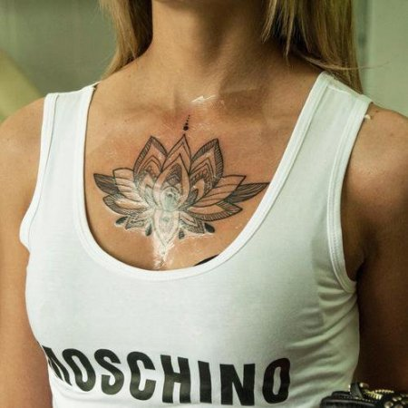 Быстрое заживление татуировки с пленкой «Супрасорб Ф»
